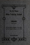 Fort Wayne Bible Training School Catalog
