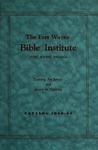 Fort Wayne Bible Institute Catalog