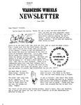 Wandering Wheels Newsletter, June 1981 by Wandering Wheels
