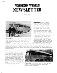 Wandering Wheels Newsletter, March 1979