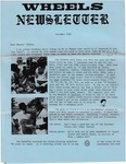 Wandering Wheels Newsletter, November 1983 by Wandering Wheels
