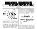 Wandering Wheels Newsletter, November 1986 by Wandering Wheels