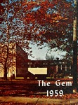 The Gem 1959 by Taylor University