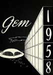 The Gem 1958 by Taylor University