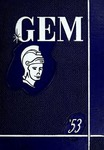 The Gem 1953 by Taylor University
