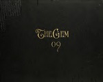 The Gem 1909 by Taylor University