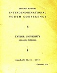 Interdenominational Youth Conference 1935