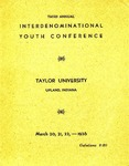 Interdenominational Youth Conference 1936