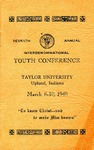 Youth Conference 1940 by Taylor University