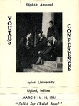 Youth Conference 1941 (Information Brochure) by Taylor University