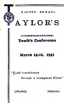 Youth Conference 1941 by Taylor University