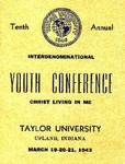 Youth Conference 1943 by Taylor University
