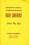 Youth Conference 1947 by Taylor University