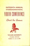 Youth Conference 1949 by Taylor University