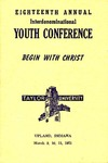 Youth Conference 1951 by Taylor University