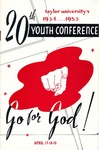 Youth Conference 1953 by Taylor University