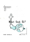 Youth Conference 1961 by Taylor University