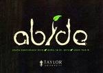 Youth Conference 2013 by Taylor University